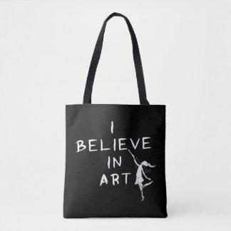 Tote Bag Fée d'art : Je crois à l'art