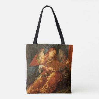 Tote Bag Festin de l'ange de guirlandes de rose par