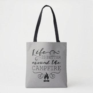 Tote Bag Feu de camp Fourre-tout