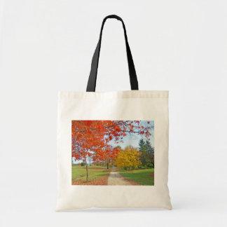 Tote Bag Feuille d'automne de chute