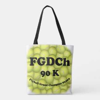 Tote Bag FGDCh 90 K, champion grand de Flyball, 90.000