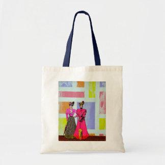 Tote Bag Filles de Gibson dans un motif de Mondrian
