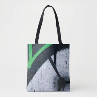 Tote Bag Fin à la mode abstraite de graffiti vers le haut