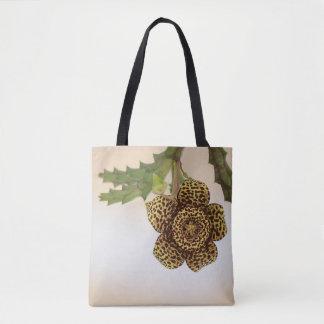 Tote Bag fleur de léopard