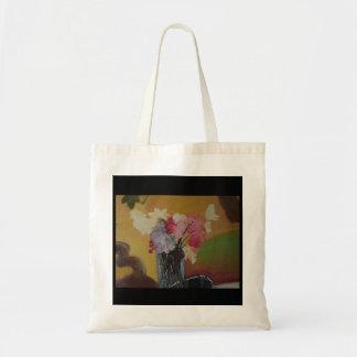 Tote Bag fleurs dans de vase toujours une peinture de la