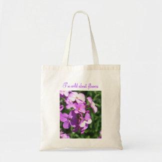Tote Bag Fleurs sauvages-Je pourpres AM sauvages au sujet