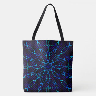 Tote Bag Flocon de neige d'Ichthus