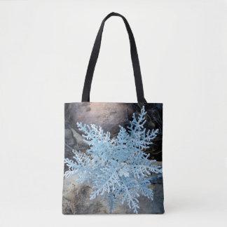 Tote Bag Flocon de neige vivant