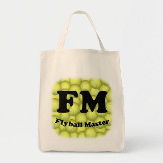 Tote Bag FM, épicerie principale Fourre-tout de Flyball