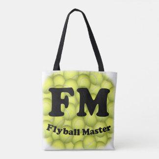 Tote Bag FM, maître de Flyball