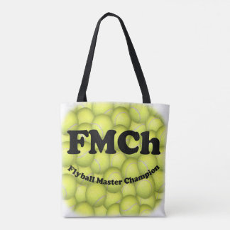 Tote Bag FMCh, champion principal de Flyball 15.000 points