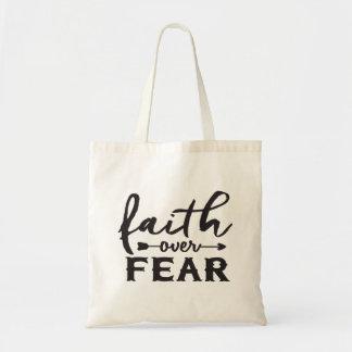 Tote Bag Foi au-dessus de la crainte