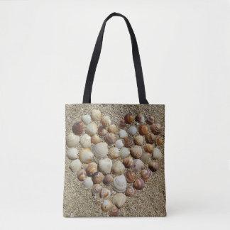 Tote Bag Fourre-tout imprimé par coquillage