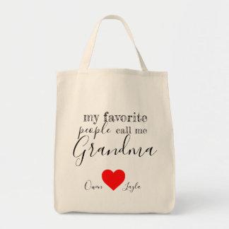 Tote Bag Fourre-tout préféré de la grand-maman