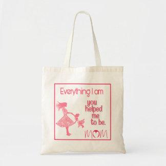 Tote Bag Fourre-tout sentimental pour la maman