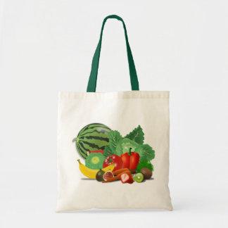 Tote Bag Fruits et légumes