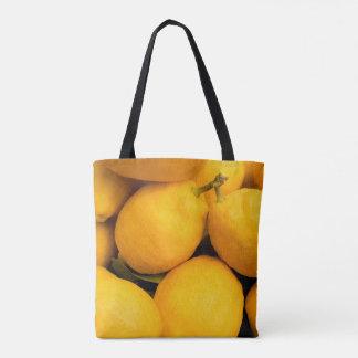 Tote Bag Fruits jaunes de citron