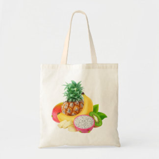 Tote Bag Fruits tropicaux