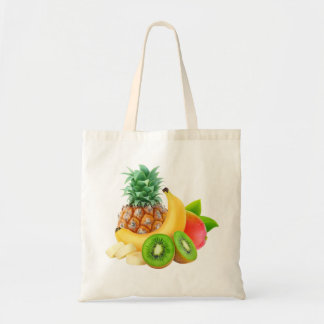 Tote Bag Fruits tropicaux