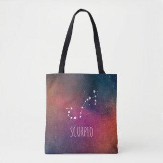 Tote Bag Galaxie de zodiaque de Scorpion