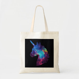 Tote Bag Galaxie fourre-tout de licorne