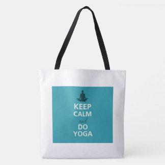 Tote Bag Gardez le yoga calme Fourre-tout