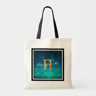Tote Bag Gémeaux étoilés de signe de Sun de zodiaque de
