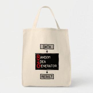 Tote Bag Générateur aléatoire d'idée (CALEZ les données)