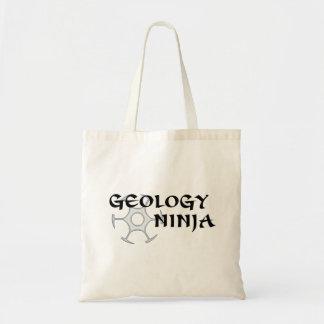 Tote Bag Géologie Ninja