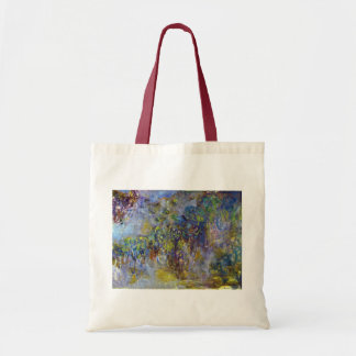 Tote Bag Glycines par Claude Monet, impressionisme vintage