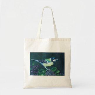 Tote Bag Grand art de mésange par Joanne Casey Fourre-tout
