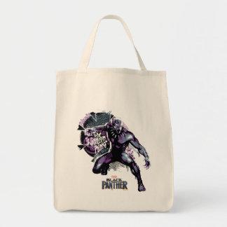 Tote Bag Graphic de guerrier de la panthère noire | du Roi