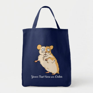 Tote Bag Graphique fait sur commande mignon de hamster