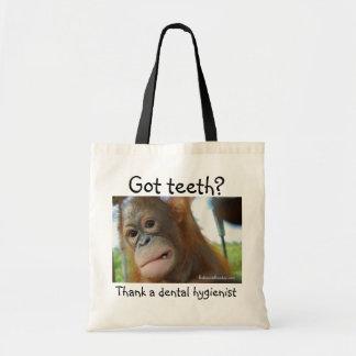 Tote Bag Gratitude dentaire de dentiste