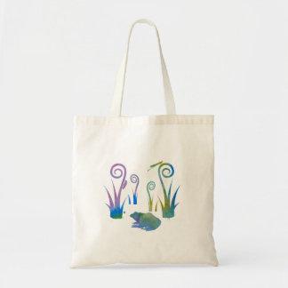 Tote Bag Grenouille, insectes, de plantes étranges