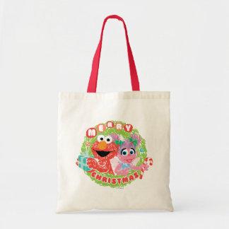 Tote Bag Griffonnage d'Elmo et d'Abby