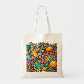 Tote Bag Griffonnage Fourre-tout de Doozied