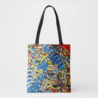 TOTE BAG GRIFFONNAGES COLORÉS