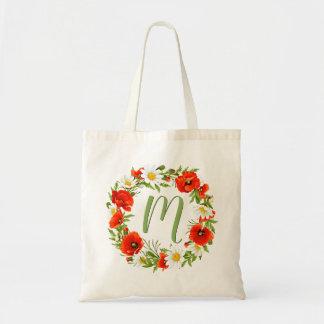 Tote Bag Guirlande faite sur commande de fleur de
