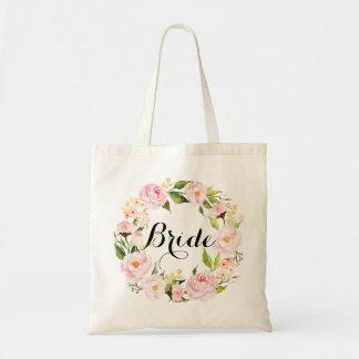 Tote Bag Guirlande florale chic Bride-6