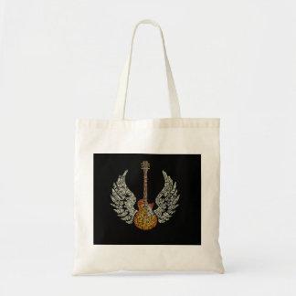 Tote Bag Guitare avec des ailes