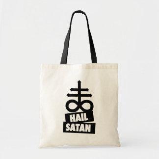 Tote Bag Hail satan - 666 croix Bag - antichrétien Bag