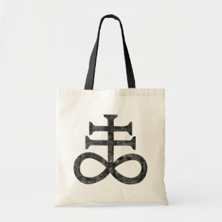 Tote Bag Hail satan - 666 Cult croix antichrétien - Totebag