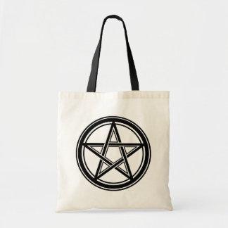 Tote Bag Hail satan - 666 Cult - Pentagram morts bag