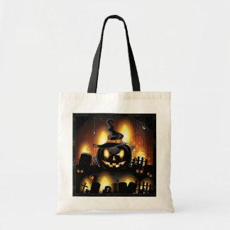 Tote Bag Halloween - citrouilles effrayants w/Hat