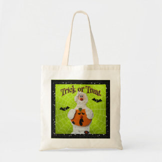 Tote Bag Halloween - maman et citrouille mignons