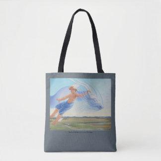 Tote Bag Hermes et le zéphyr