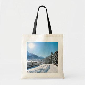 Tote Bag Hiver à St Moritz