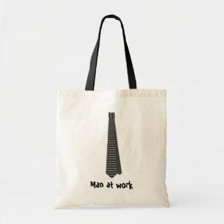 Tote Bag Homme au travail