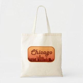 Tote Bag Horizon vintage de Chicago de style